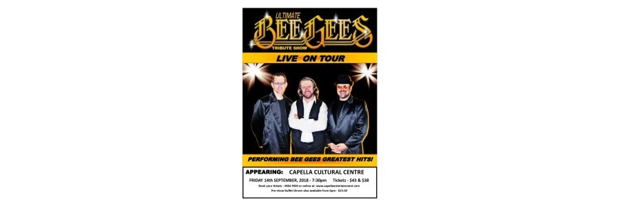 The Ultimate Bee Gees Tribute Show